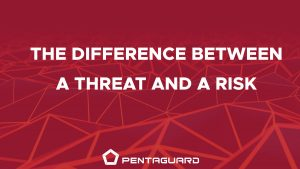 the difference between threats and risks