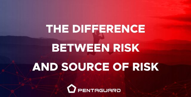the difference between risk and source of risk